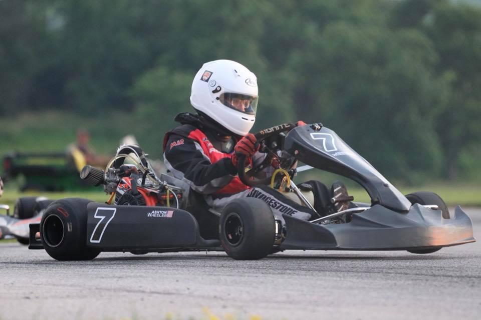 Wheeler Racing | Ashton at the wheel
