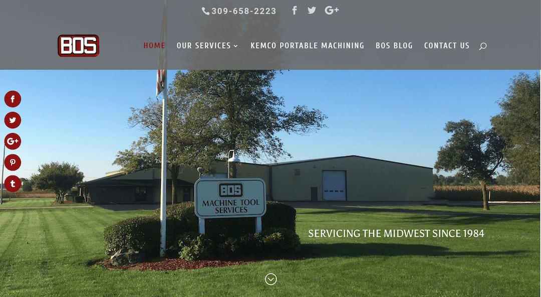 BOS Machine Tool Repair Services