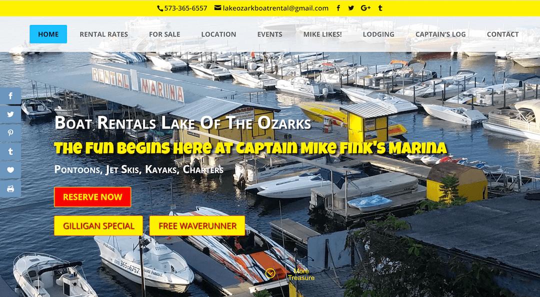 Captain Mike Fink's Marina