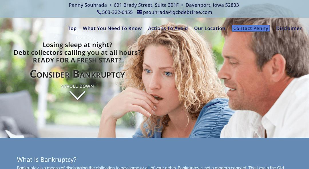 Davenport Bankruptcy Attorney Penny Souhrada