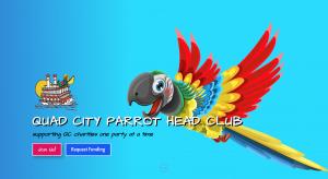 Web Design in Bettendorf   Quad City Parrot Head Club
