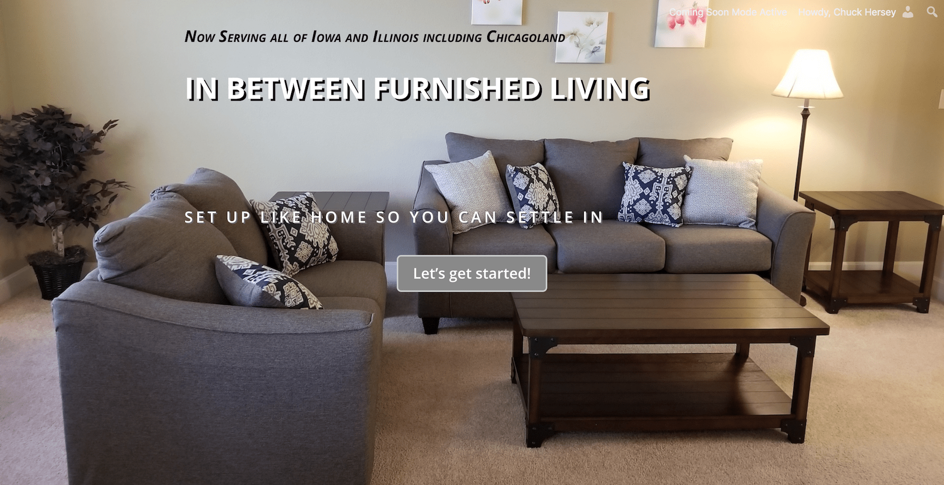 In Between Furnished Living