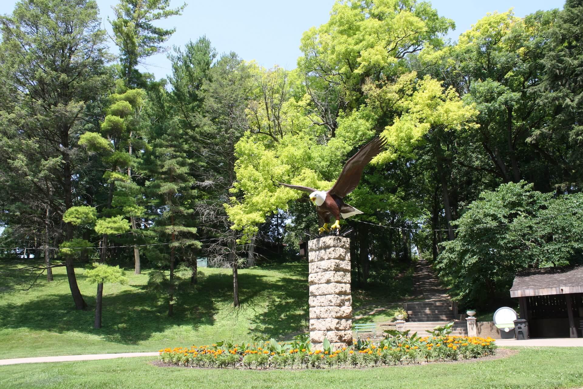 Eagle Point Park in Dubuque Iowa