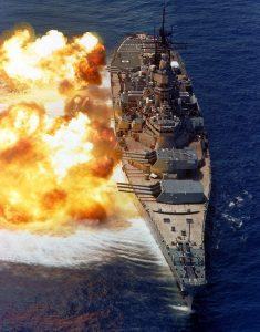 Support Battleship Iowa - USS Iowa