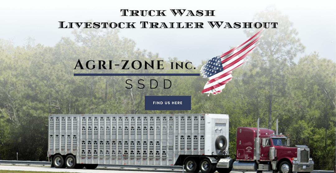 Agri-Zone Truck Wash Screen Capture