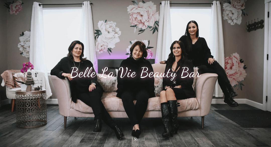 Iowa Web Design - Belle La Vie Beauty Bar