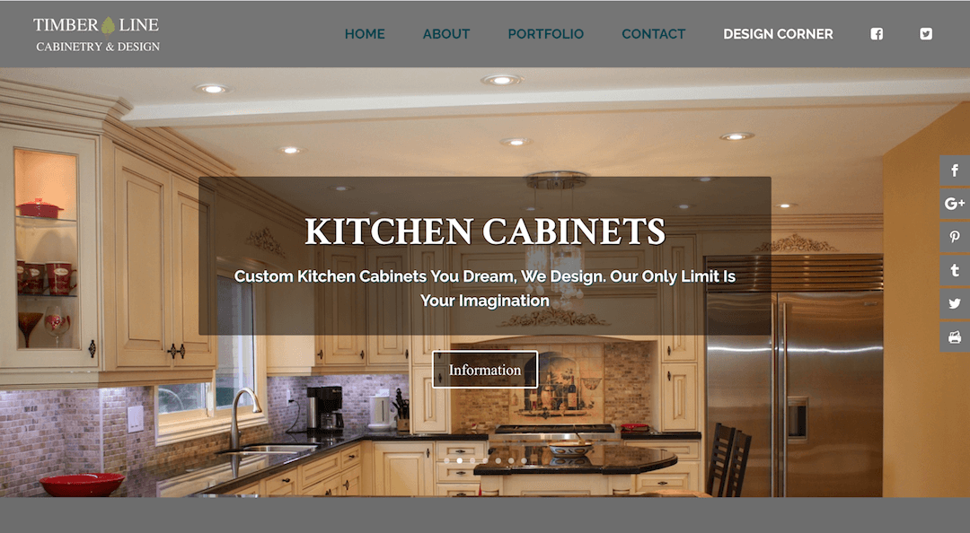 Timberline Cabinetry & Design – Custom Kitchen Cabinets