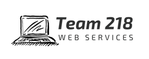 Web Design, SEO Website Management - Team 218 Web Services Logo