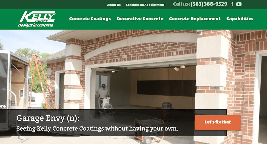 Kelly Designs In Concrete Screenshot