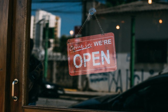 Google My Business   Local SEO - Open sign in window