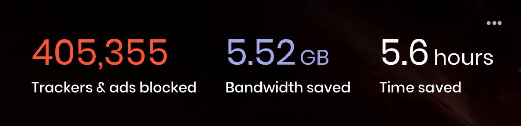 Brave Browser Stats