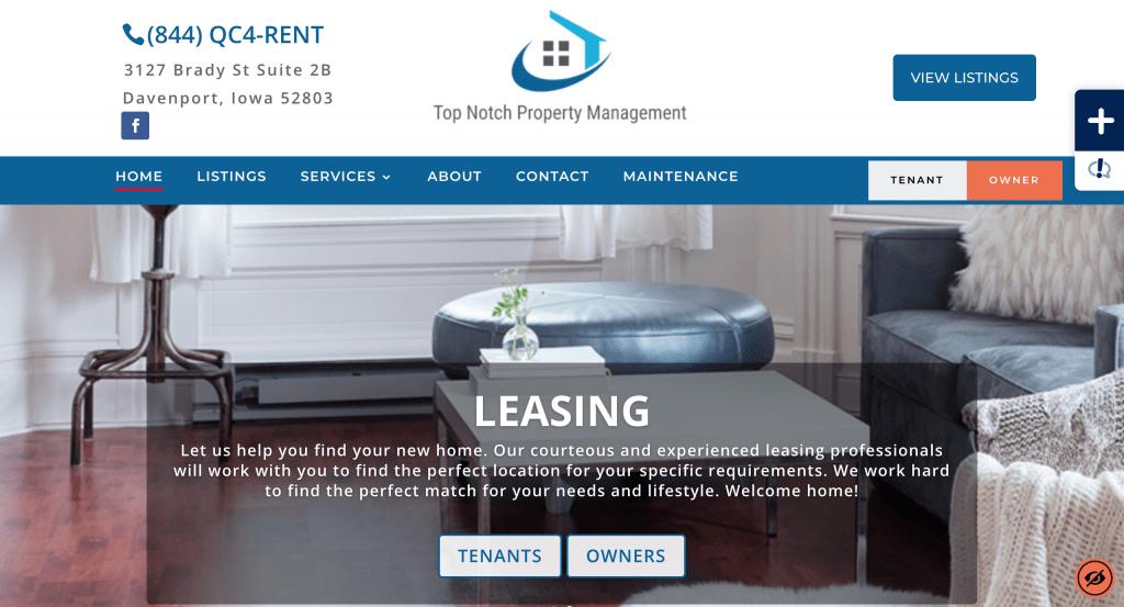 Top Notch Property Management Screenshot