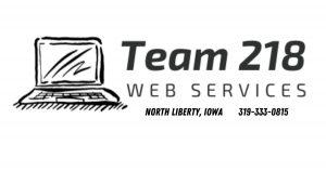 Domain Name | Team 218 Web Services Logo