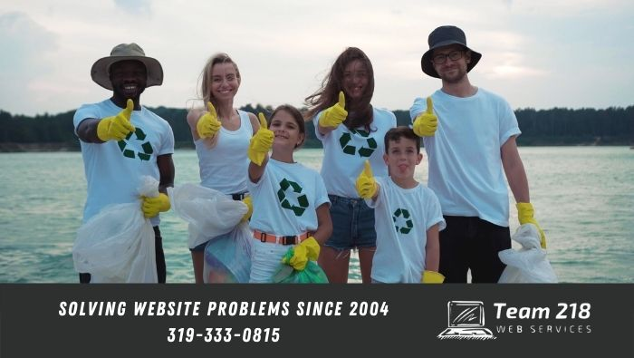 free website for your nonprofit | we love helping nonprofit organizations