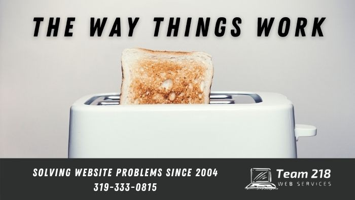 The Way Things Work - Toast in Toaster