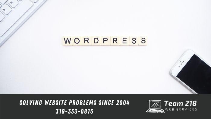 wordpress tips | wordpress web design image with iphone and keyboard