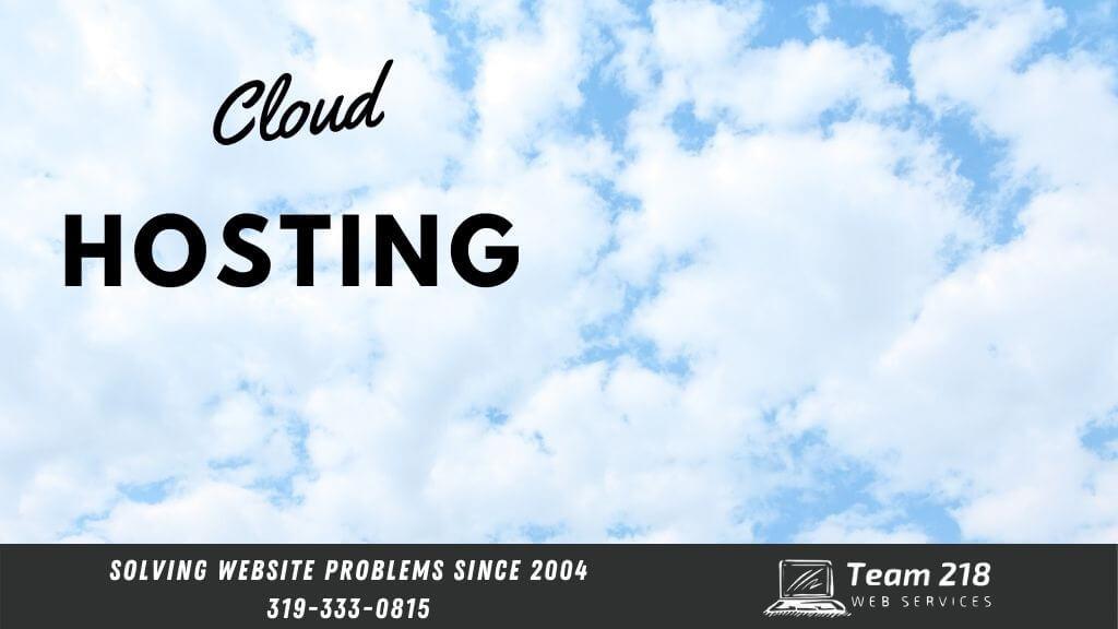 website hosting update