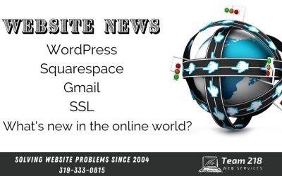 Website News