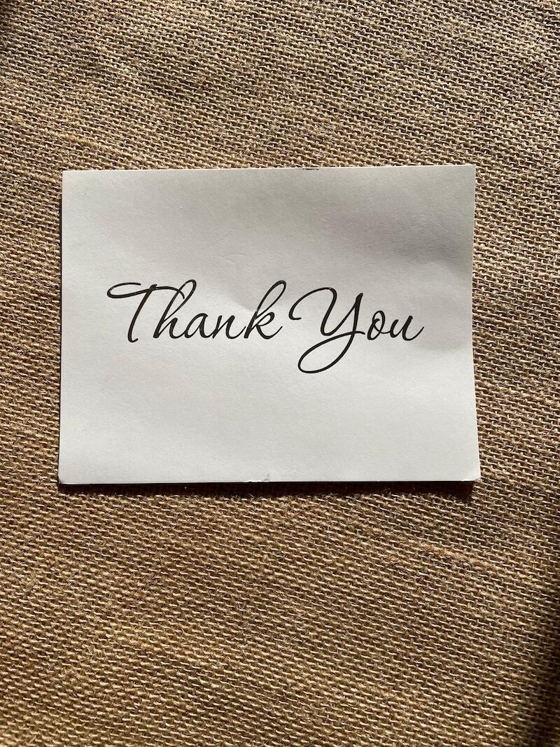 Solon Area Community Foundation Thank You