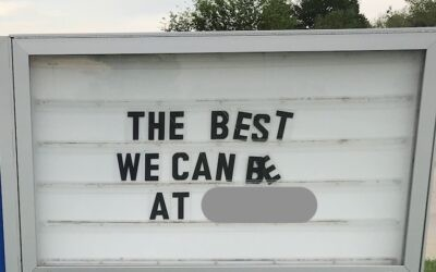 The Best We Can Be