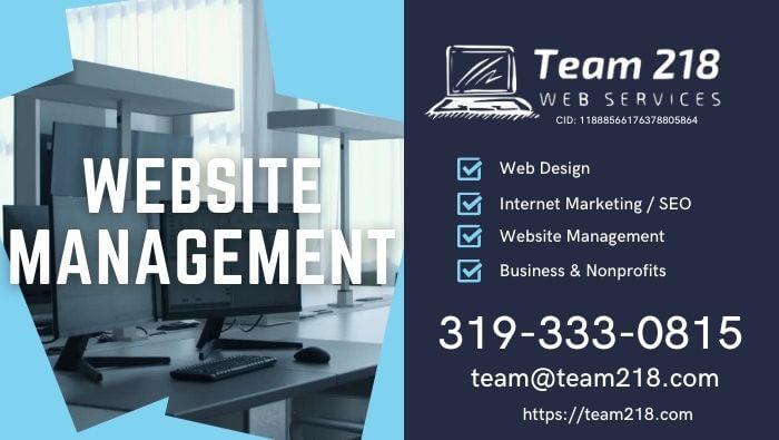 Website Management, Webmaster